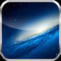 Galaxy S3 Transparent Clock