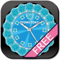 [FREE] CUTE QLOCK Blue Diamond