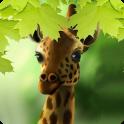 Giraffe HD Parallax Live Wallpaper Free