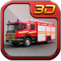 American Fire Fighter Truck 3D 2018