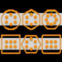 Stamped Orange Pack SL Theme