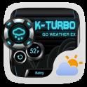 K-Turbo Weather Widget Theme