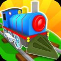 鉄道道路 - 列車が運転