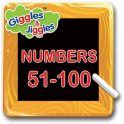 Numbers 51-100 for LKG Kids - Giggles & Jiggles
