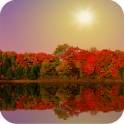 Autumn Lake Live Wallpaper