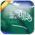 3D Saudi Arabia Flag Live Wallpaper
