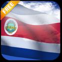 3D Costa Rica Flag LWP