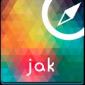 Jakarta Offline Carte Guide