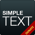 Simple Text Donate/Pro Key