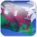 3D Welsh Flag