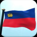 Liechtenstein Flag 3D