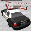 Police Car Estacionamento 3D
