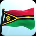 Vanuatu Flag 3D Free Wallpaper