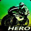 Herói de Moto