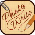 Escrever e desenhar em photos