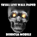 3D Skulls Live Wallpaper