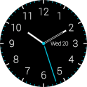 Dark Analog Watch Face