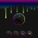 Aurorae Clock Widget