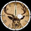 Clock Deer Hunting - Widget