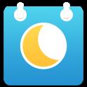 Moon Phase Calendar sync
