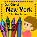 New York City Color, Play and Learn