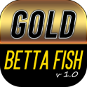 Gold Betta Fish Live Wallpaper