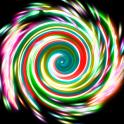 Glow Spin Art