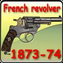 French service revolver M 1873