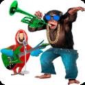 Talking Parrot vs Monkey Sing
