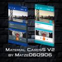 Material CardsS V2 for KLWP
