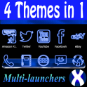 Blue Neon Complete 4 Themes