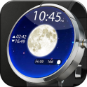Moon Phase Lunar Watch Face