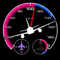 항공계기판 - 속도계 Pro