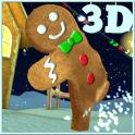Village de Biscuits de Noël 3D
