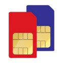 Dual SIM Carrier Logos Widget
