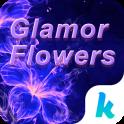 Glamor Flowers Keyboard Theme