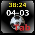 サッカー スコアーボード(Tab)