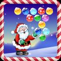 क्रिसमस बुलबुला शूटर खेल