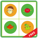 Fruits Vegetables Memory Match