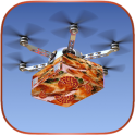Drone Pizza Delivery Sim