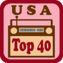 USA Top 40 Radio Stations