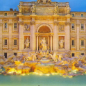Wallpapers Trevi Fountain
