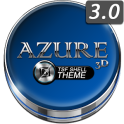 TSF Shell Launcher Theme Azure with icon pack