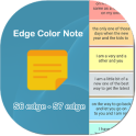 Note for Edge Panel