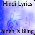 Lyrics of Singh is Bling