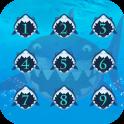 Applock Theme Crazy Shark