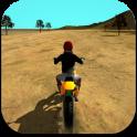 Motocross Motorrad Simulator