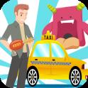 Loop Alien Taxi 2D Game
