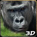 Wütend Gorilla Angriff Simulat