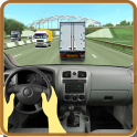Driving in Truck